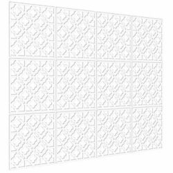 Hanging Room Divider Decorative Screen Panels Made of PVC Room White 02 $56.26
