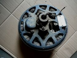 WESTINGHOUSE ANTIQUE CAST IRON MOTOR from WOOD BLADE COMMERCIAL CEILING FAN