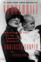 Vanderbilt: An American Dynasty by Anderson Cooper English Hardcover Book Free $23.51