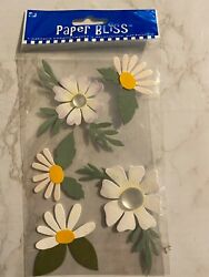 Paper Bliss Flowers Stickers $1.99