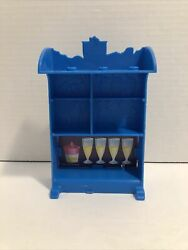 Monster High Bus Piece Blue Bar Table Replacement Part $12.99