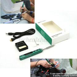 SQ EAI01 Smart Electric Soldering Iron Station Portable Kit 65W for RC FPV Drone $35.99