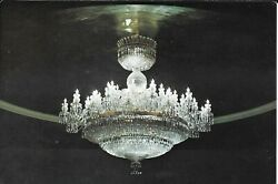 Postcard Waterford Chandelier JKF Center For The Performing Arts Opera House $2.50