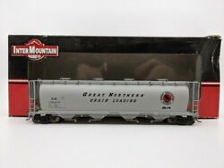 InterMountain 45204 39 HO Scale Great Northern Cylindrical Covered Hopper #17047 $40.99