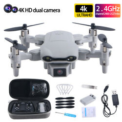 New RC Drone 4k HD Wide Angle Camera WIFI FPV Drone Camera Quadcopter Best Gift $38.98