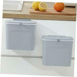 Kitchen Compost Bin Countertop Compost Bin with Lid Wall Mounted amp; Gray $30.36