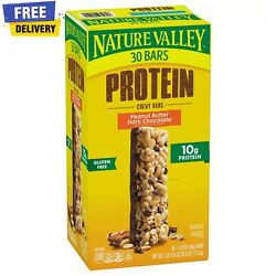 Nature Valley Peanut Butter Dark Chocolate Protein Chewy Bars 30 ct. $16.38
