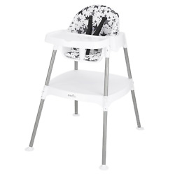 Safety 4 in 1 Eat amp; Grow Convertible High Chair For Kids Baby White Gray NEW $82.76