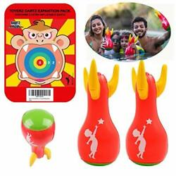 ToyerZ DartZ Expansion Set 2 Inflatable Lawn Darts Outdoor Games for Kids and... $19.53