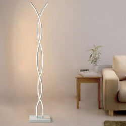 Acrylic 56in Floor Lamp LED Modern Lamp Wide Voltage Stepless Dimming Lighting $147.03