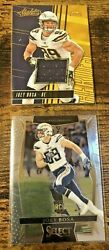 Joey Bosa RC and Game Used152 199 Set of Cards Panini Select and Absolute $9.99