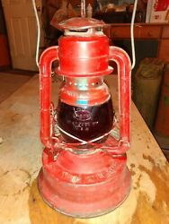 Dietz Little Wizard Lantern Antiq Lamp NY USA 11quot; been converted to electric. $28.00