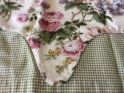 Waverly Home Classics Floral amp; Gingham Valance $12.50