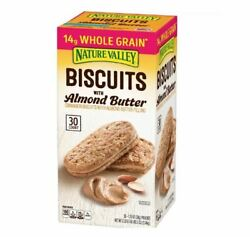 Nature Valley Biscuit Sandwich with Almond Butter 30 ct. $15.95