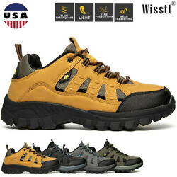 Mens Climbing Trail Shoes Trekking Hiking Boots Outdoor Mountaineering Sneakers $29.99