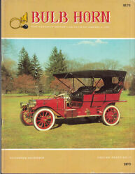 BULB HORN : 11 12 1975 : Ford Mercer Dusters Larz Anderson Lanchester Durant $11.49