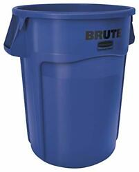Rubbermaid Commercial Products BRUTE Heavy Duty Round Trash Garbage Can with ...