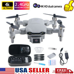 RC Drone 4k HD Wide Angle Camera WIFI FPV Drone Camera Quadcopter Best Gift US $38.98
