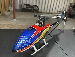 Align TREX 470 Lp. Rc Helicopter Used. Mint Condition. NO FBL OR RECEIVER $275.00