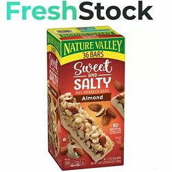Nature Valley Sweet and Salty Nut Granola Bars Almond Snack Bars 36 ct. $13.90