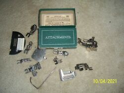 Vintage WHITE ROTARY VARIOUS Attachments $24.99