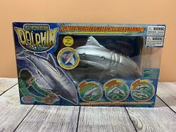 Wowwee Cyber Dolphin Remote Control RC for Land or Water $60.00