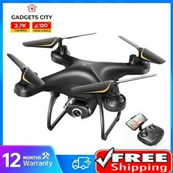 SP650 Drone Camera 2K HD Video Voice Gesture Control Wide Angle RC Quadcopter $67.25