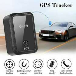 GPS Tracker GF09 Magnetic Car Tracker APP Control Device Magnetic $15.80