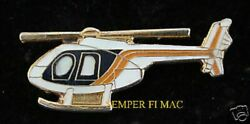 DOUGLAS 500E HELICOPTER HAT LAPEL PIN UP HELO PILOT CREW HUGHES WING TIE TAC WOW $12.89
