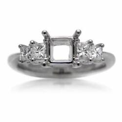 Platinum Diamond Engagement Ring Setting