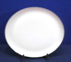 Syracuse China CHEVY CHASE Oval Serving Platter 12-12