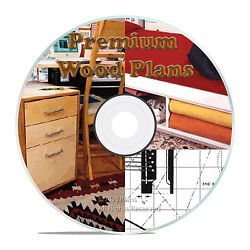 PREMIUM PLANS - TOOLS TOYS AND FURNITURE BEDSIDE NIGHT TABLE WOOD DESKS CD
