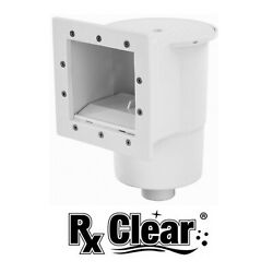 Rx Clear Standard Thru Wall Skimmer w Return Fitting for Above Ground Pools $59.96