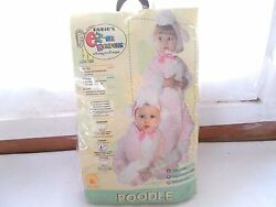 New Rubies Pink Poodle Costume Infant 6 12 Months Unisex $19.99