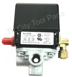 5140112 24 Porter Cable Air Compressor Pressure Switch 175 145 PSI *Genuine OEM $140.38