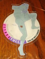 JETHRO TULL SHAPED PICTURE DISC SAID SHE WAS A DANCER  DOGS IN THE MID WINTER