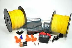 PET SAFE STUBBORN LARGE DOG FENCE ELECTRIC IN GROUND SYSTEM 1000#x27; WIRE KIT For $234.95