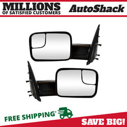 Manual Tow Side Mirror Pair for 2005-2009 Dodge Ram 2500 3500 2002-2009 Ram 1500 $88.53