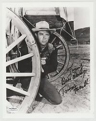 TOMMY FARRELL SIGNED 8X10 INSCRIBED AUTO AUTOGRAPH NORTH BY NORTHWEST JSA D 2004