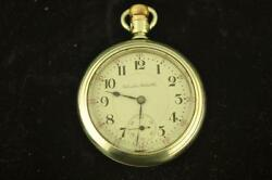 VINTAGE 18S HAMILTON GRADE 940 DISPLAY BACK POCKET WATCH FROM 1903 KEEPS TIME