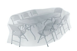 Patio Garden Outdoor Yard Square Table and Chairs Furniture Set Cover 264