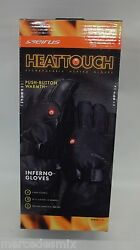 Seirus Mens Heat Touch Inferno Snow Gloves 1098 Black Size Medium