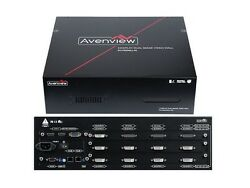 Avenview DVI-PROWALL-9X 4K 9-Display Video Wall Processor with Rotation