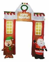 Airblown Inflatable Outdoor Christmas Gingerbread Archway Decor 10.5 Ft Wide
