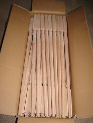 Solid oak Stair Balusters Spindles MINT BRAN NEW LOT OF 25