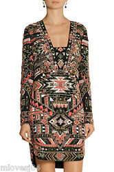 EMILIO PUCCI Embellished Runway Multi Dress Beaded New BNWT 8 US 6 IT 40 £7495
