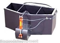 Skid Steer Concrete Bucket wHydraulic Gate12 Cubic Yard Capacity Fits All