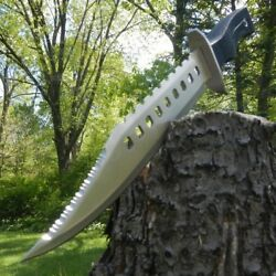 17quot; Tactical Hunting Rambo Full Tang Fixed Blade Knife Machete Bowie w Sheath $22.75