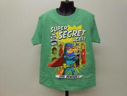 NEW PHINEAS AND FERB MISSION MARVEL KIDS YOUTH SIZE 7 SHIRT $3.01