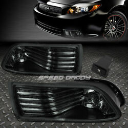 FOR 05 10 SCION TC SMOKE LENS BUMPER DRIVING FOG LIGHT REPLACEMENT LAMP W SWITCH $38.88